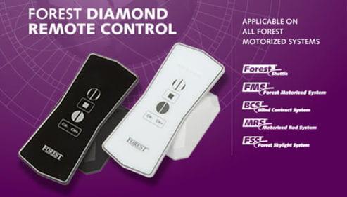 Радио пульты управления Forest Diamond